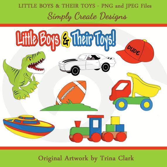 Football Toys For Boys : Items similar to boys toys clipart dinosaurs football