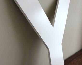 Y - Vintage Letter XL