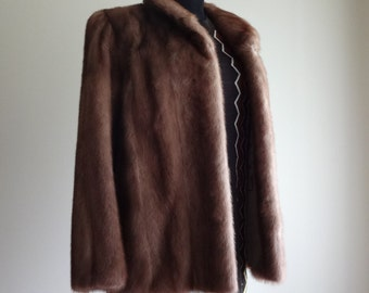 Beautiful small vintage mink coat jacket