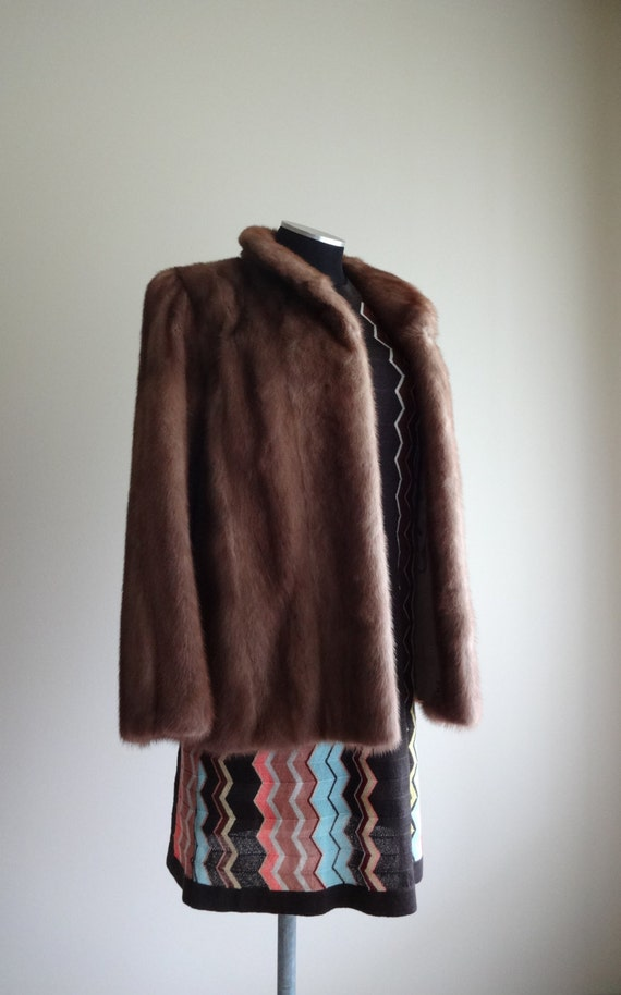 Beautiful small vintage mink coat jacket