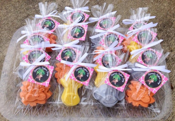 animal soaps favors jungle animal soap safari, Baby shower invitation