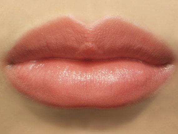 "Vegan Lipstick - ""Darling"" (medium nude rose lipstick color) natural lip tint, balm, lip colour mineral lipstick"