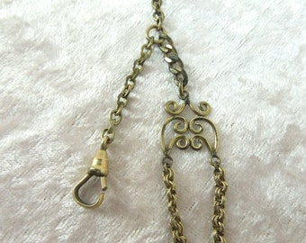 Vintage Victorian Watch Fob Gold Tone