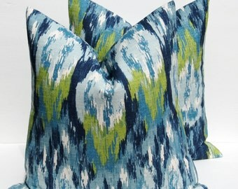 Blue Pillow - Decorative Pillows - Decorative Throw Pillow covers - Throw Pillow covers - Pillows - Throw Pillows - Accent Pillows - 16x16