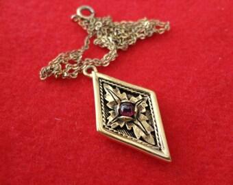 10 dollar sale Enchanting Amethyst Necklace