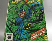 Vintage Batman Comic Book Issue No. 367 - The Green Ghosts of Gotham, January 1984, DC Comics