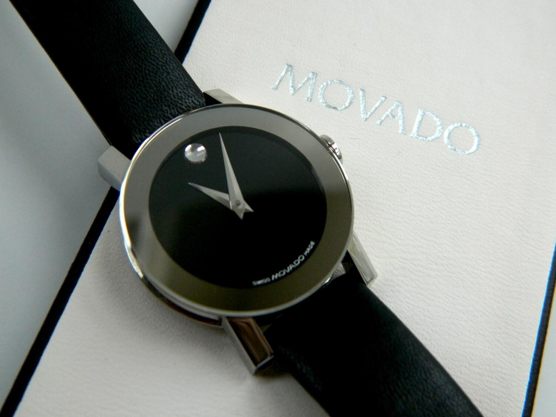 Vintage Womens Movado Watch Minimalist Simple Elegant