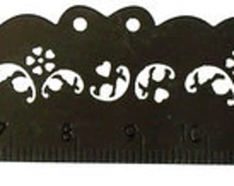 "Stainless Steel EMBOSSING RULER for Parchment Craft, SCRAPBOOKING, and Design Use - 6""- Free Postage"