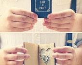 Ring Bearer Pillow Book with Personalization, Rustic Vintage Wedding, Book Themed Wedding, Wedding Keepsake