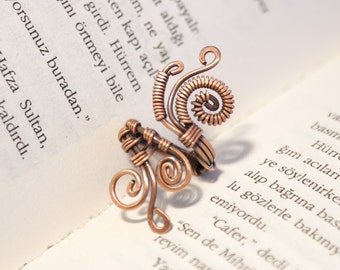 copper ring,copper jewelry,wire wrapped jewelry handmade ring