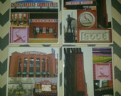 Busch Stadium - St. Louis Cardinals Set of 4 coasters