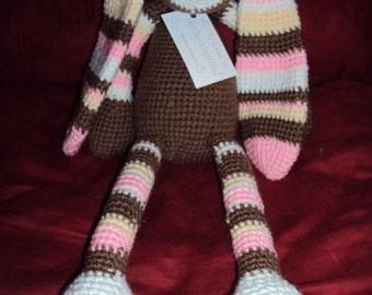 Crocheted Stuffed Bunny