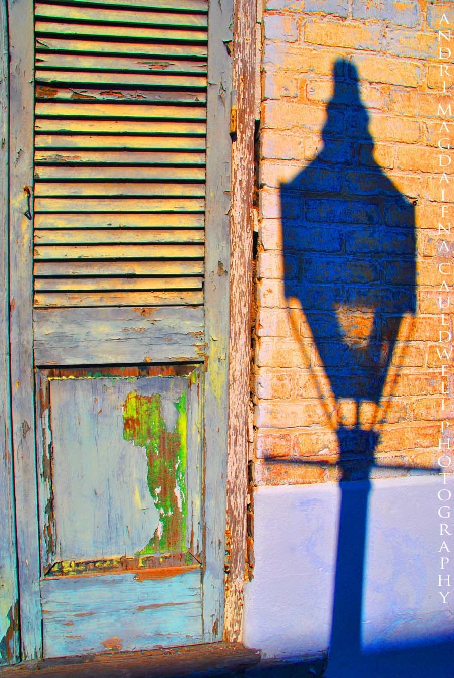 New Orleans French Quarter Shutters Wall Art