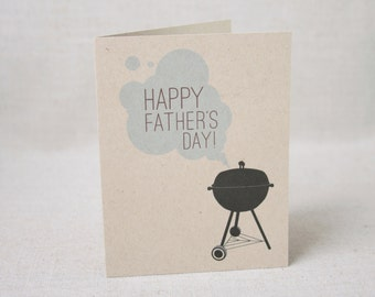 Father's Day Card  //  Grill Illustration  // For Dad