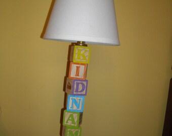 ABC Block Lamp