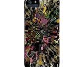 iPhone 6 Case, Pattern, Pink, black, Abstract, Art, iPhone case, ingridsart, iPhone 5S case, iphone 5 case, Galaxy S7 Case
