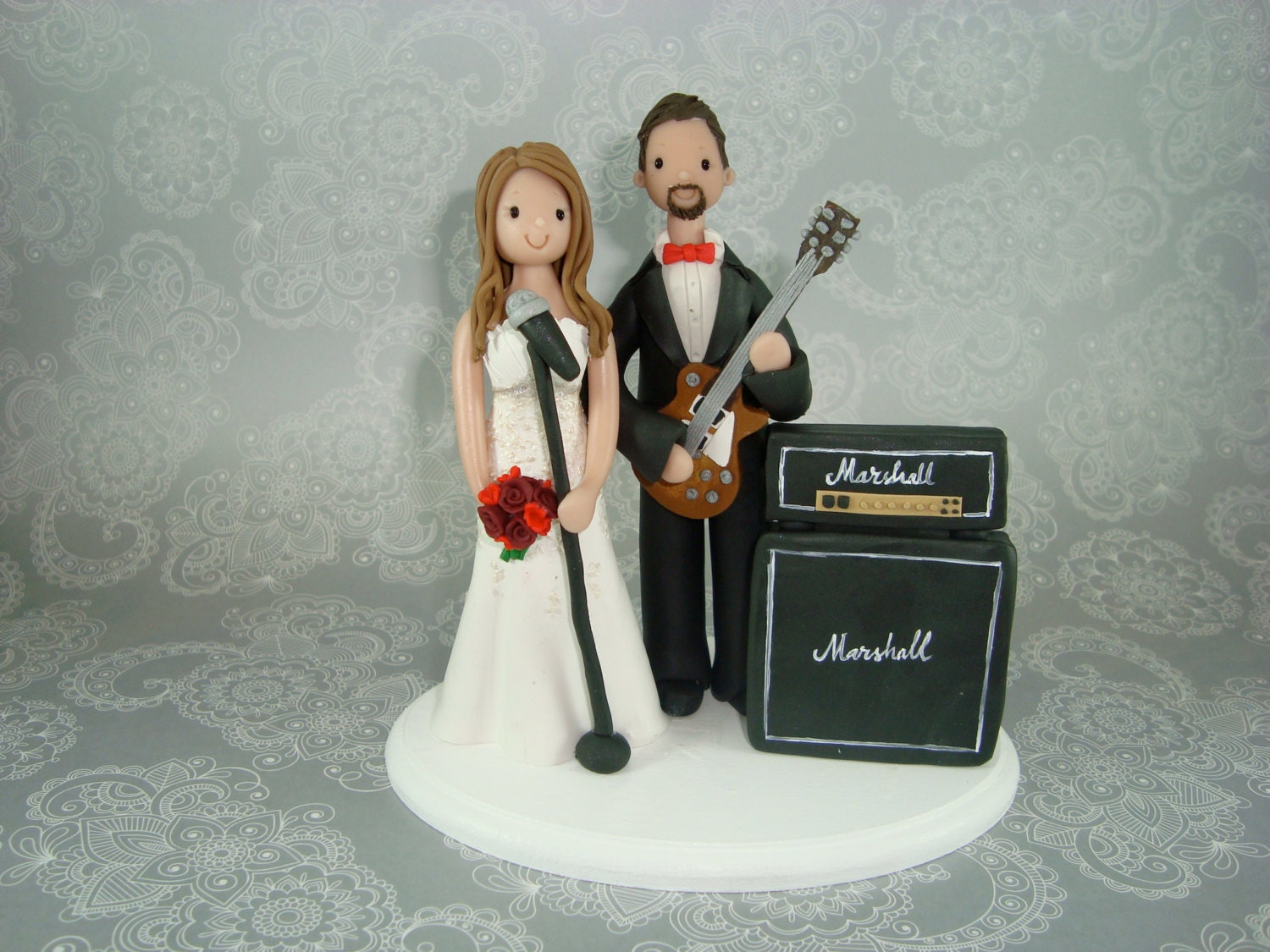 musical wedding cake toppers customized amp groom theme wedding cake topper 17665