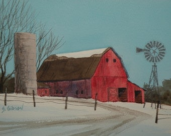 Old Jake Schulte's Red Barn