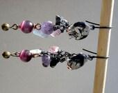Gothic Gargoyle Dangle Earrings
