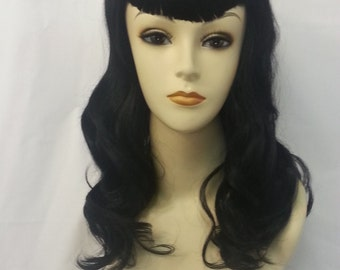 Retro style/pin up style wig heat friendly