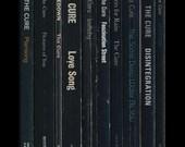 The Cure 'Disintegration' Poster Print - Album As Books Robert Smith Book Print