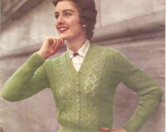 1950s Fern Cardigan - SALE