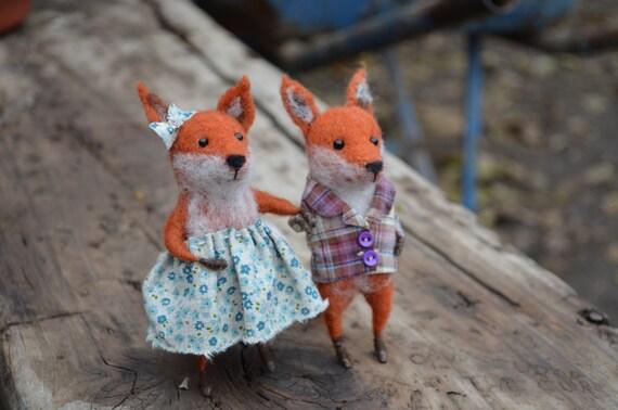 Mr. Fox - Felting Dreams by Johana Molina - READY TO SHIP