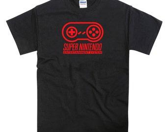 Nintendo Red SNES Joypad Controller Tribute Tshirt