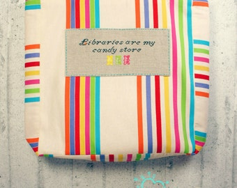 Libraries Are My  Candy Store - Big Tote Bag