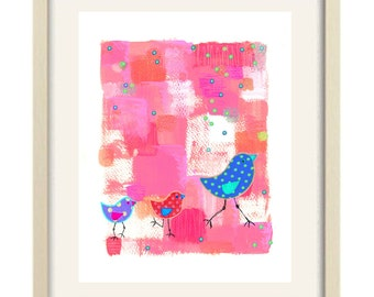 Baby Girl Bathroom Art, Bathroom Decor, Baby Girl Nursery Art, Childrenu0027s  Art Girl