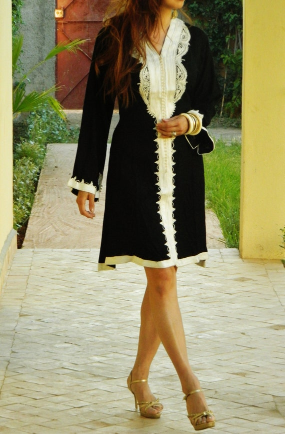 Spring Clothing Black Marrakech Dress - for resort wear, holidays, birthday gifts, resort wear, holiday shopping, wedding
