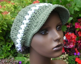 Twisted Slouch Hat Crochet Pattern