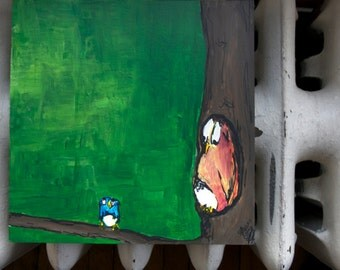 "Original Painting - ""Treehouse"""