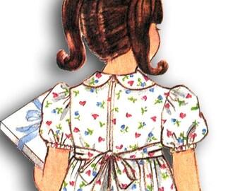 BUTTERICK 3040 Little Girl's Dress Size 2-3