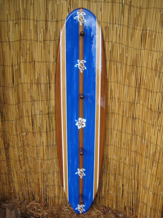 4ft Decorative Surfboard Towel Rack Made from High Quality