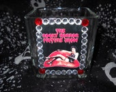 Rocky Horror Picture Show Glass Candle Holder