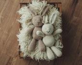 PATTERN Briar Bunny adorable knitting handknit rabbit