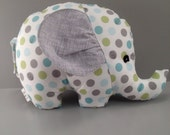 Soft Cuddly Elephant RESERVED Listing for Imettman