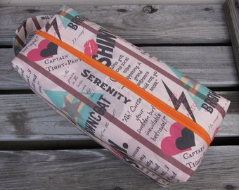 Large Firefly Box Bag -- Go Browncoats