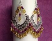Suncatcher Chandelier earrings