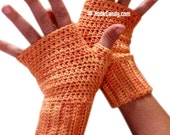 Fingerless Mitts (crochet pattern)