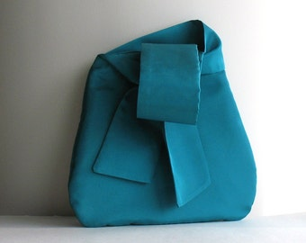 Wristlet bag , small  bridesmaid purse , Handmade prom handbag , Fabric purse , Wristlet purse , Vegan gift