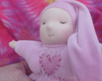 Custom Baby Bunting Waldorf Doll
