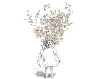 Fine Art Print - Brain Burst - marie gardeski