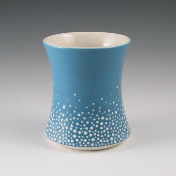 Cup Blue - Porcelain Pebble Cup in Blue