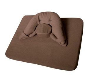 Moonleap Meditation Cushion and Mat Combo - Large Size