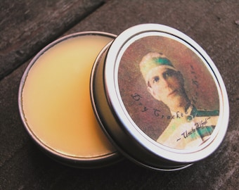 Mens Beeswax Hand Balm Intensive Moisturizer and Protectant