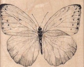 Rubber stamp Butterfly  cling stamp, unmounted or wood Mounted  scrapbooking supplies number 7760