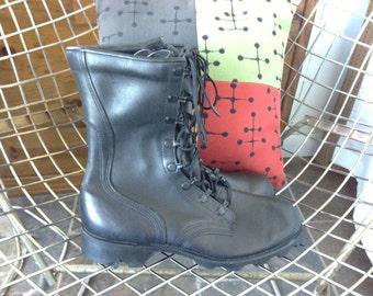 On Sale Vintage combat boots RJ  8-87 size 5.5