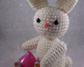 PDF CROCHET PATTERN - Sweet Lil Bunny Amigurumi Plush